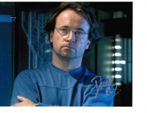 David Nykl from Stargate Atlantis signed 10 by 8